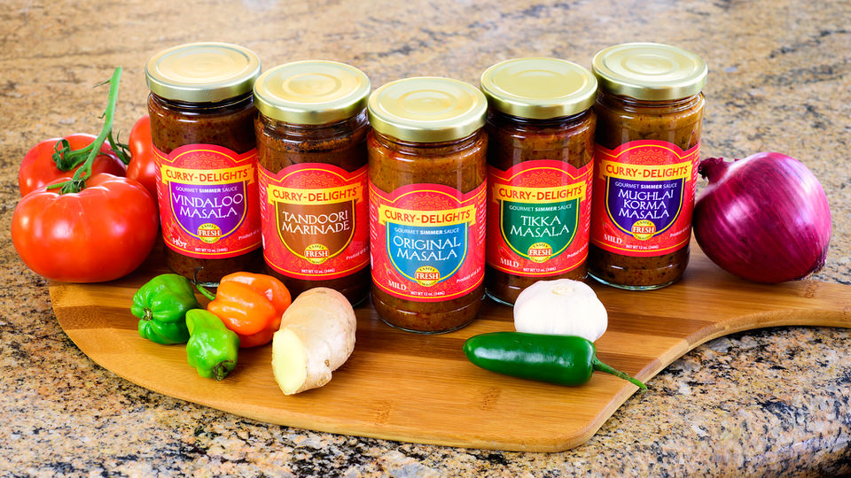 Our Curry-Delights Simmer Sauces