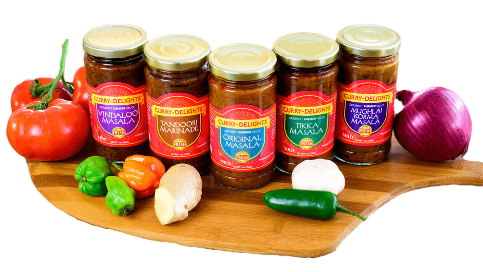 Award Winning Curry Delights Indain Sauces